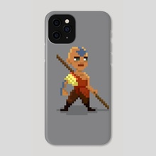 Chibi Aang - Phone Case by Anna Nguyen