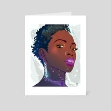 Glimmer - Art Card by Devon Myles