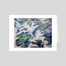 Ocean - Art Card by Stacey
