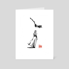 ballad - Art Card by philippe imbert