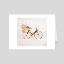 Mate bike - Art Card by Marcos Morales