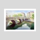 Paris, Pont neuf - Art Print by Jean-Sylvain Lapouge