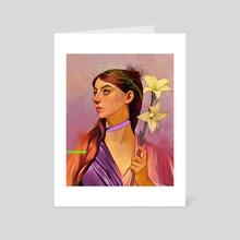 Victory - Art Card by Glenda Medina