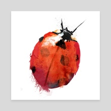 Ladybird - Canvas by Greg Araszewski