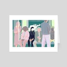 Daydreaming - Art Card by Hazel Ng