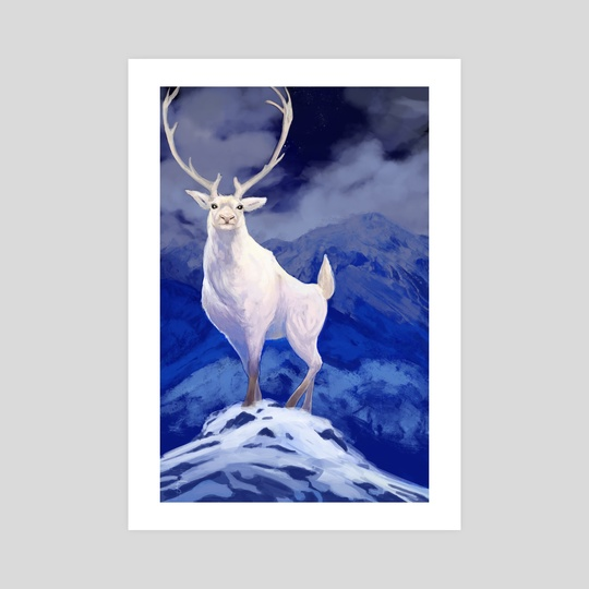 Majestic Reindeer by Frankie Smith