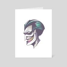 The Joker - Art Card by wwowly