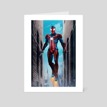 Iron Spider man homecoming - Art Card by ATLANT99