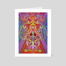 """Magician's Birthday"" - Art Card by nicolas mocan"