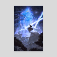Ultimate battle - Canvas by Jose Vega