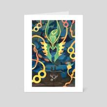 Ultimate Dragon - Art Card by JustaSuta