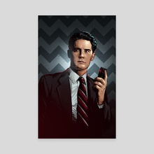 Twin Peaks - Canvas by Nikita Abakumov