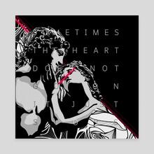 MY HEART XXXX GO ON - Canvas by Sfaux Sf.