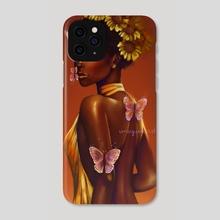 Issa Rae  - Phone Case by Olivia Ebere Art