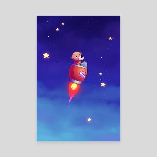 Rocket Dog by Jon Nielsen