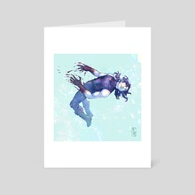 Into the Prism - Art Card by McSkirt