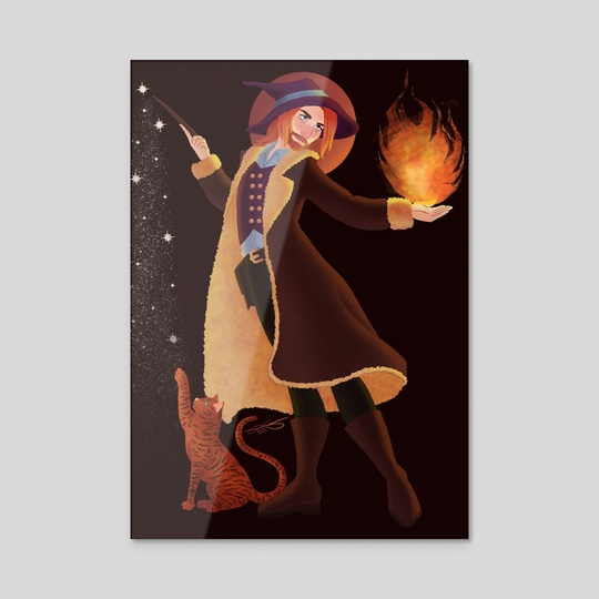 Witches and Wizards by Becky Wiffen