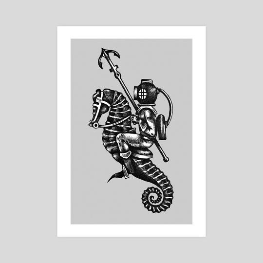 Seahorse  by Máté Molnár