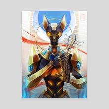 BASTET - Canvas by steelsuit