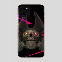 Dota 2 - Skeleton King - Phone Case by Low Poly Project