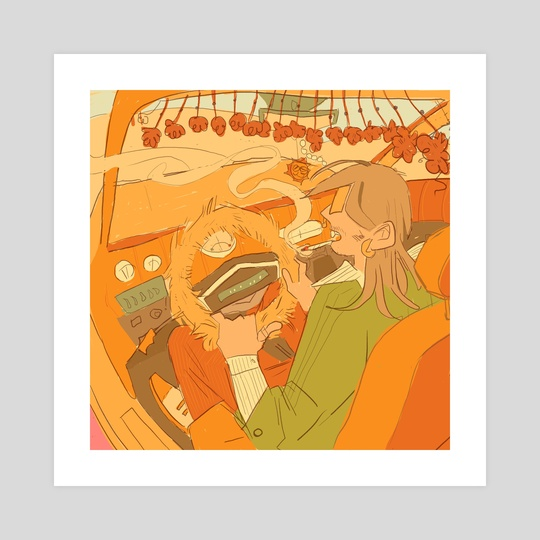 70's Joyride by Desmond Florence