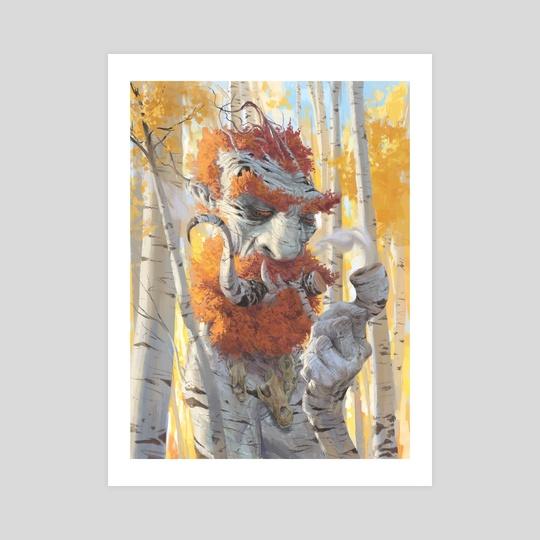 Birch Treeant by Ognjen Sporin