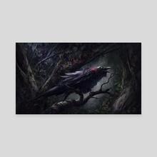 Blind Warden - Canvas by Julian Bauer