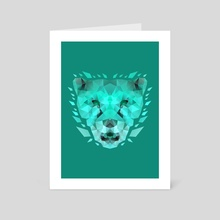 Cheetah Tosca - Art Card by Imagi  Factory