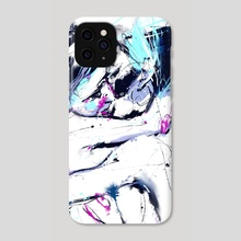 GirlsKissing - Phone Case by Marie Getta