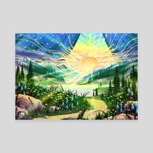 Daybreak - Canvas by Ewan Rose