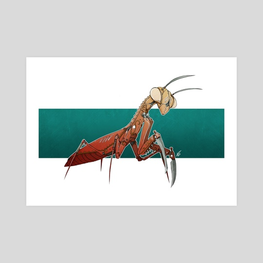 Cogwork Earth: TicToc Mantis by Nick Fair