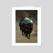 Oiligarchy - Art Card by Chris Zakrzewski