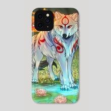 Okami Amaterasu  - Phone Case by Aleksandra Popowicz