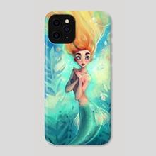 the pretty mermaid - Phone Case by Peter Brockhammer