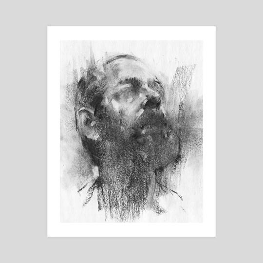 Sketch Head 04.17.18 by Damian Goidich