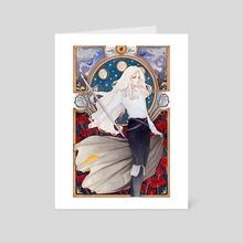 Alucard Art Nouveau 2019 - Art Card by Charity Santiago