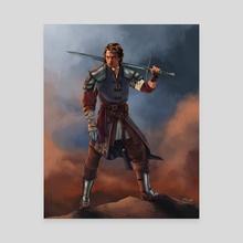 Anakin Skywalker, Knight of the Jedi - Canvas by Jake Bartok
