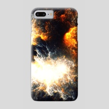 Firestorm - Phone Case by Andi GreyScale