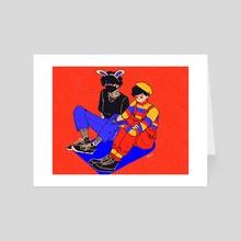 Fashion, Baby - Art Card by vivi