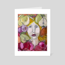 Juicy - Art Card by Kristin Rexter