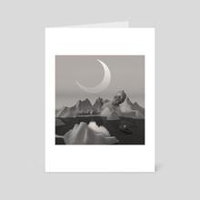 Noon dream memories - Art Card by Marina Abdullaeva