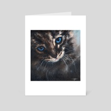 Old Blue Eyes - Art Card by Chris Moult