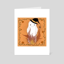 Witch Pad - Art Card by Michela Negri