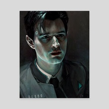 Connor - Canvas by Sabrina Glik