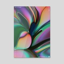 "WWP 183 ""Orchid"" - Acrylic by Martin Naumann"