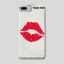 The Seven Year Itch - Phone Case by Deniz Akerman