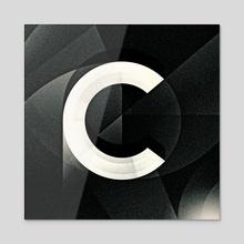C - Acrylic by Nicholas Matej