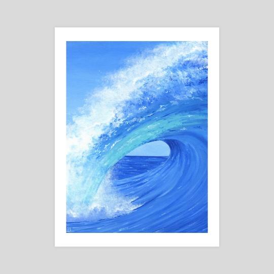 Cerulean Wave by Jennifer DiArenzo