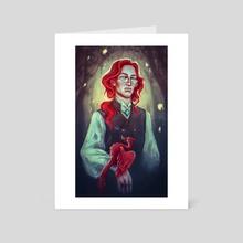 Albus Percival Wulfric Brian Dumbledore - Art Card by Marina Reizberg