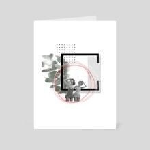 Utelips - Art Card by Meltem Özgür